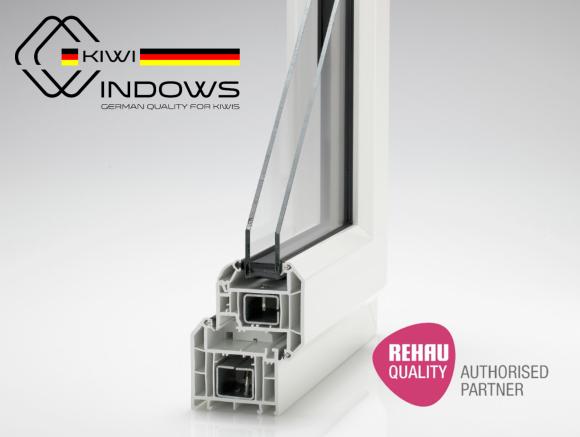 Rehau double glazed windows, Kiwi Windows
