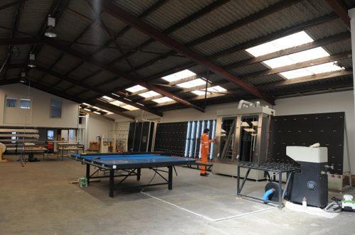 Kiwi Windows factory. Window manufacturing.